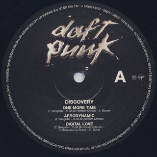Daft Punk / Discovery label