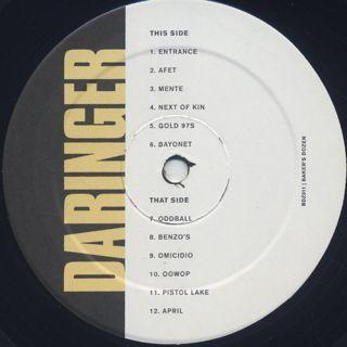 Daringer / Baker's Dozen label