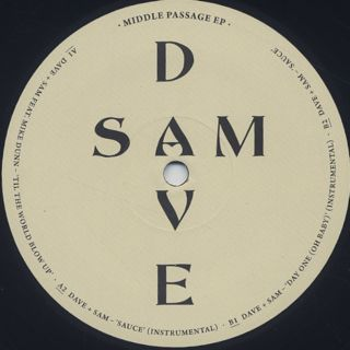 Dave + Sam / Middle Passage EP back