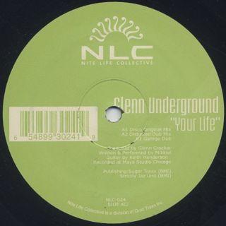 Glenn Underground / Your Life back