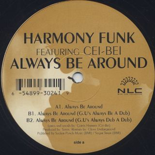 Harmony Funk Featuring Cei-Bei / Always Be Around back