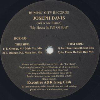 Joseph Davis / My House Is Full Of Soul