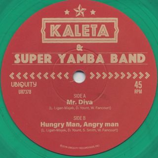 Kaleta & Super Yamba Band / Mr. Diva