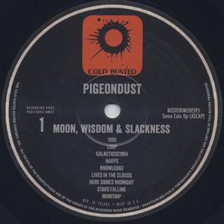 Pigeondust / Moon, Wisdom & Slackness label