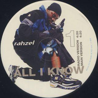 Rahzel / All I Know label