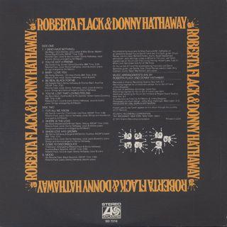 Roberta Flack & Donny Hathaway / S.T. back
