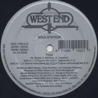 Soul Station / You back