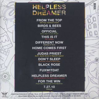 V.A. / Helpless Dreamer back