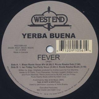Yerba Buena / Fever back