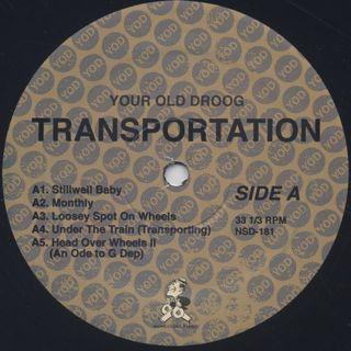 Your Old Droog / Transportation label