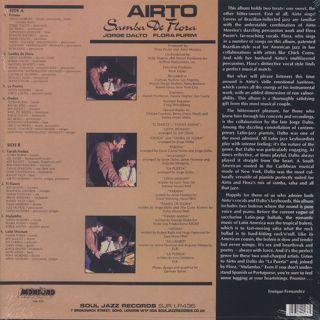 Airto / Samba De Flora back