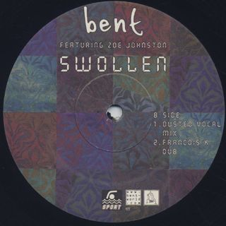 Bent Featuring Zoe Johnston / Swollen label