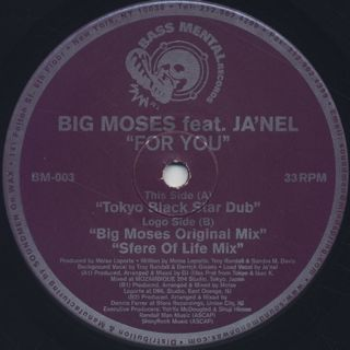Big Moses Feat. Ja'Nel / For You