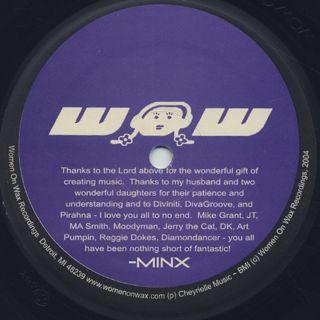 DJ Minx / Fuzzy Navel back