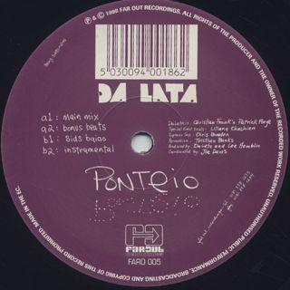 Da Lata / Ponteio back