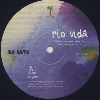 Da Lata / Rio Vida label
