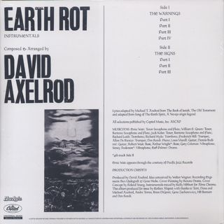 David Axelrod / Earth Rot Instrumental Version back