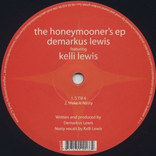 Demarkus Lewis / The Honeymooner's EP back