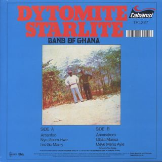 Dytomite Starlite Band Of Ghana / S.T. back