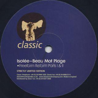 Isolée / Beau Mot Plage (Remix)