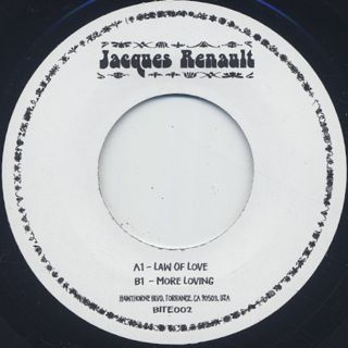 Jacques Renault / Law Of Love back
