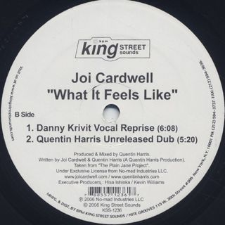 Joi Cardwell / What It Feels Like (Danny Krivit Re-Edit) label