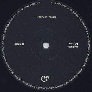 Kaidi Tatham / Serious Times label