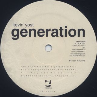 Kevin Yost / Generation (A Jazz Ode)