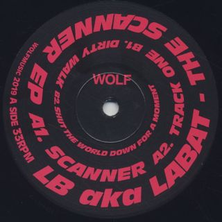 LB aka LABAT / The Scanner EP back