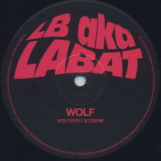 LB aka LABAT / The Scanner EP label