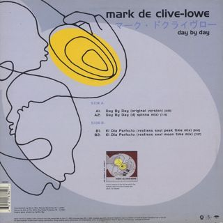 Mark De Clive-Lowe / Day By Day back