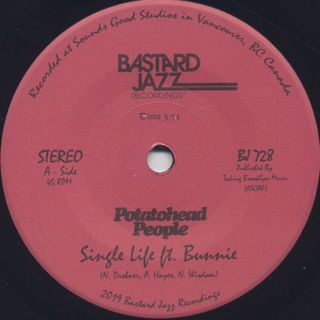 Potatohead People / Single Life label