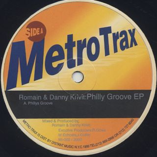 Romain & Danny Krivit / Philly Groove EP back