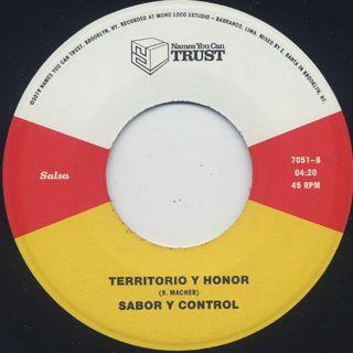 Sabor Y Control / Dispara Ya label