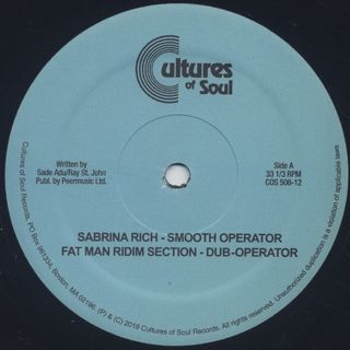 Sabrina Rich / Smooth Operator label