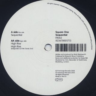 Square One / Sequential label