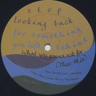 Theo Parrish / What You Gonna Ask For back