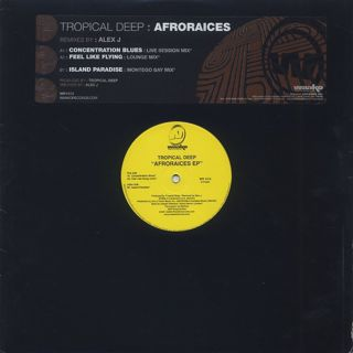 Tropical Deep / Afroraices EP front