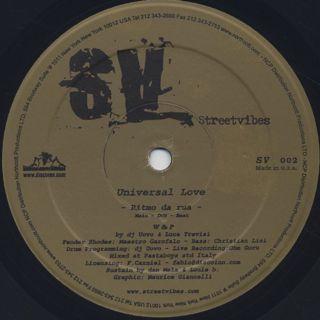 Universal Love / Ritmo Da Rua