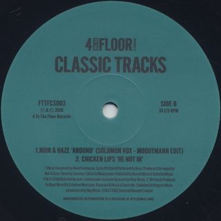 V.A. / 4 To The Floor Classics Volume 3 back