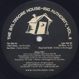 V.A. / The Baltimore House-ing Authority Vol. II back