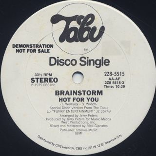 Brainstorm / Hot For You