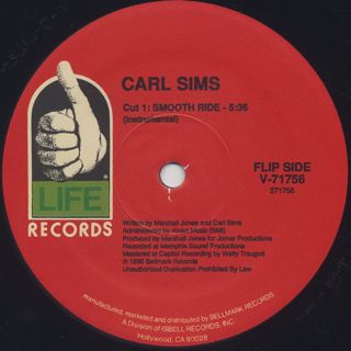 Carl Sims / Smooth Ride back