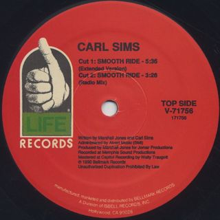 Carl Sims / Smooth Ride label