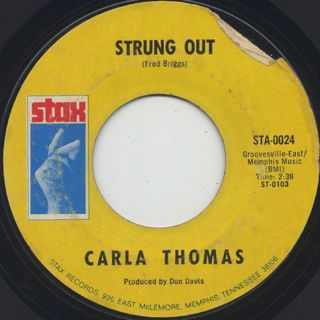 Carla Thomas / I Like What You're Doing (To Me) back