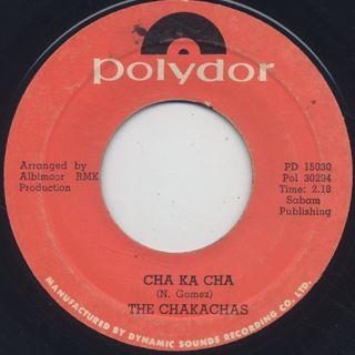 Chakachas / Jungle Fever c/w Cha Ka Cha back