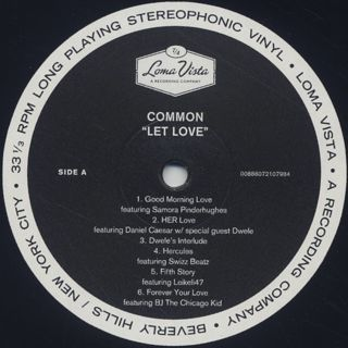 Common / Let Love label