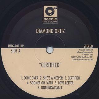 Diamond Ortiz / Certified back
