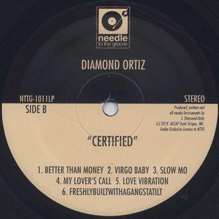 Diamond Ortiz / Certified label