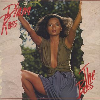 Diana Ross / The Boss front